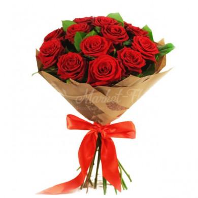 Букет «Красная любовь»