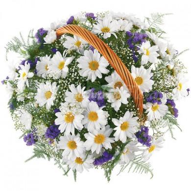 Корзина цветов «Очарование»